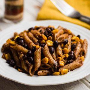 Jerk seasoning pasta