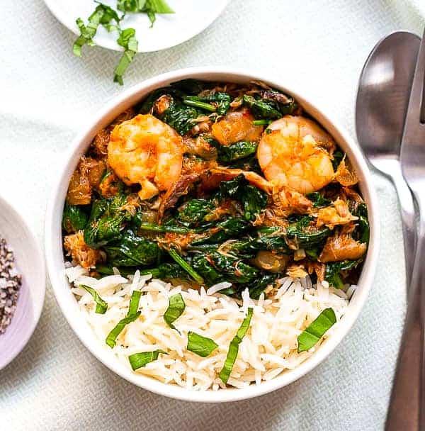 Nigerian spinach sauce
