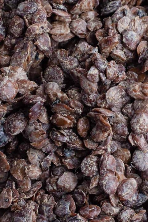 Locust beans from West Africa