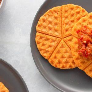 Akara made into waffle